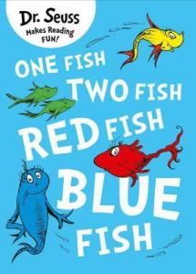 one fish two fish by Dr Seuss