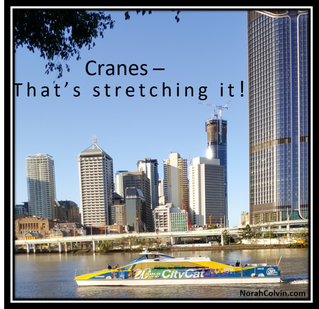 flash fiction story about cranes