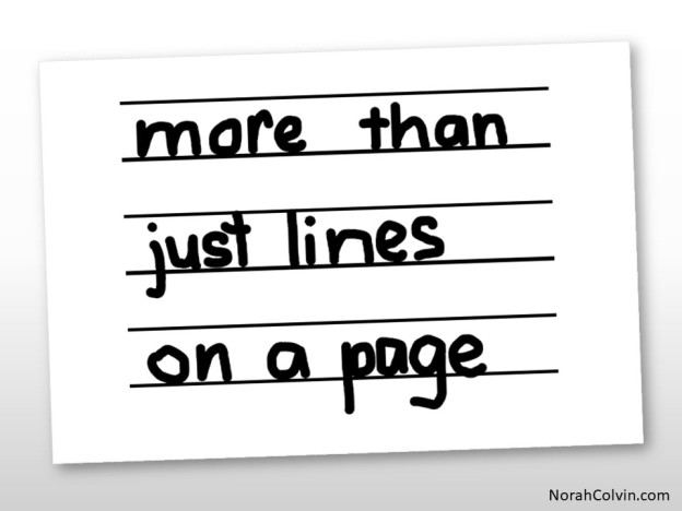more than just lines on a page
