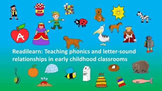 teaching phonics and initial letters and sounds in an early childhood classroom