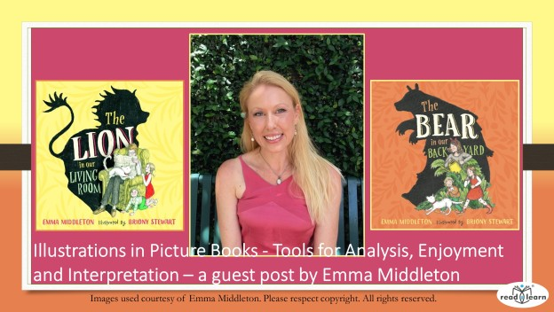 Emma Middleton author and illustrator discusses the importance of illustrations in children's picture books