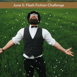 man glisten a flash fiction challenge by Charli Mills at the Carrot Ranch