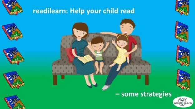 strategies to support parents helping their children learn to read