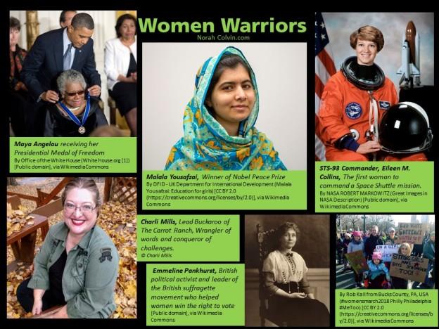 women warrriors