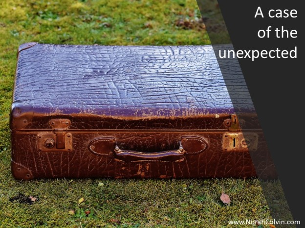 flash fiction abandoned suitcase