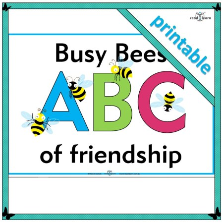 busy bees ABC of friendship