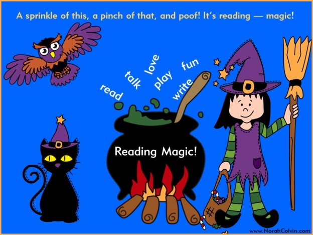reading magic - read, talk, play, laugh, have fun
