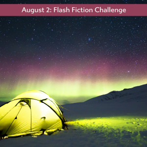 yellow tent flash fiction prompt Carrot Ranch
