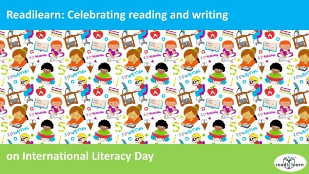 celebrating reading and writing on International Literacy Day