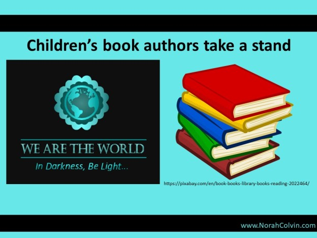 #WATWB Children's Book Authors Are Selling More Than Books. They're Taking A Stand