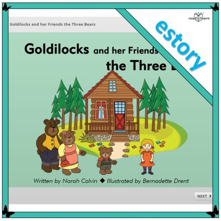 Goldilocks and her Friends the Three Bears interactive innovation