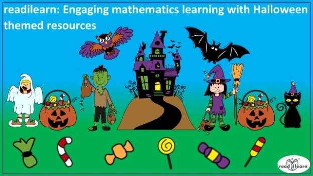 Halloween mathematics lessons for the interactive whiteboard