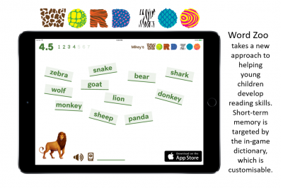 Word Zoo a dynamic dictionary for beginning readers and spellers by Robert Colvin