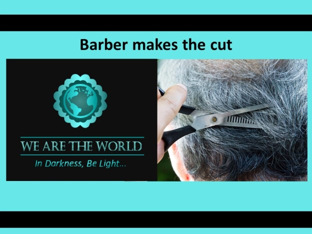 #WATWB story of barber cutting hair of homeless
