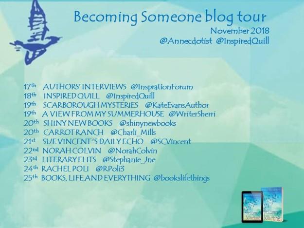 Becoming Someone blog tour