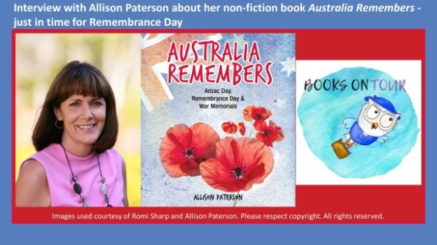 Interview with Allison Paterson author of Australia Remembers