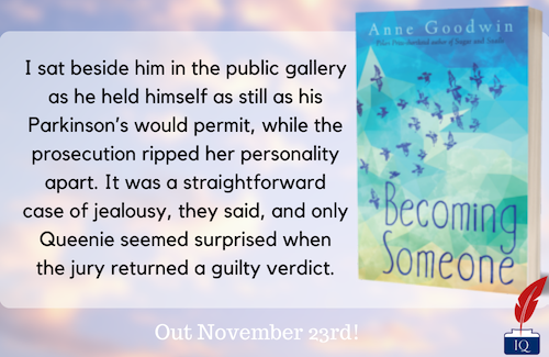 Reflecting Queenie teaser for Becoming Someone by Anne Goodwin