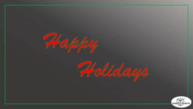 holiday wishes and inspiring teaching videos