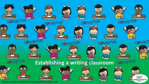 lessons and suggestions for teaching writing in the first three years of school