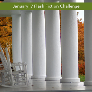 charli mill's flash fiction challenge - colonnades