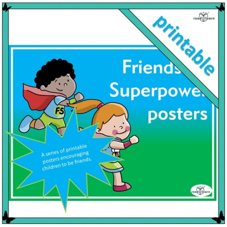 friendship superhero posters