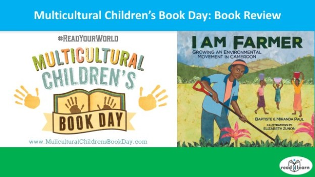 Multicultural Children's Book Day review of I am Farmer