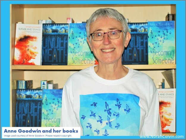 Anne Goodwin and her books
