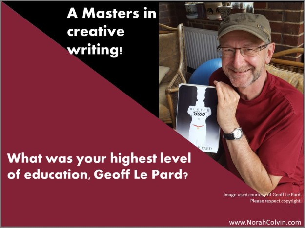 Geoff Le Pard's highest level of education