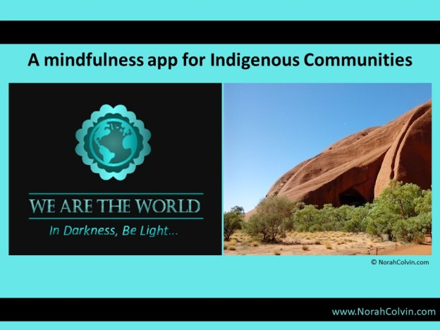 #WATWB March Indigenous Mindfulness app