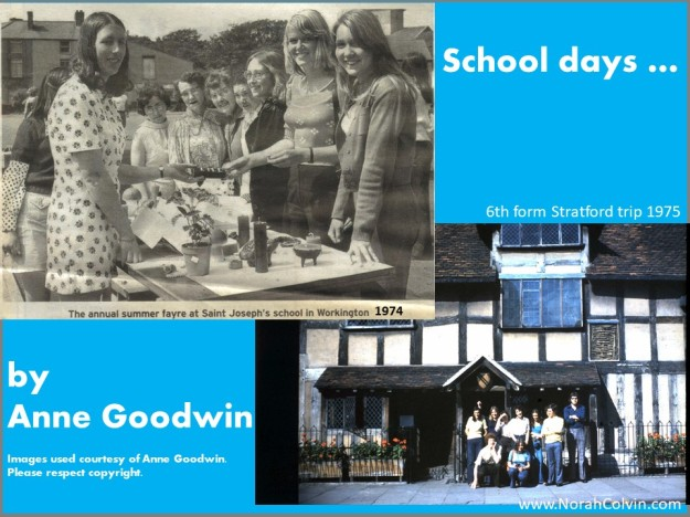 Anne Goodwin's school days