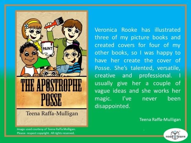 Teena Raffa-Mulligan's thoughts on Veronica Rooke's illustrations