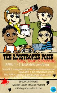 The Apostrophe Posse blog tour schedule