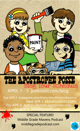 The Apostrophe Posse blog tour schedule