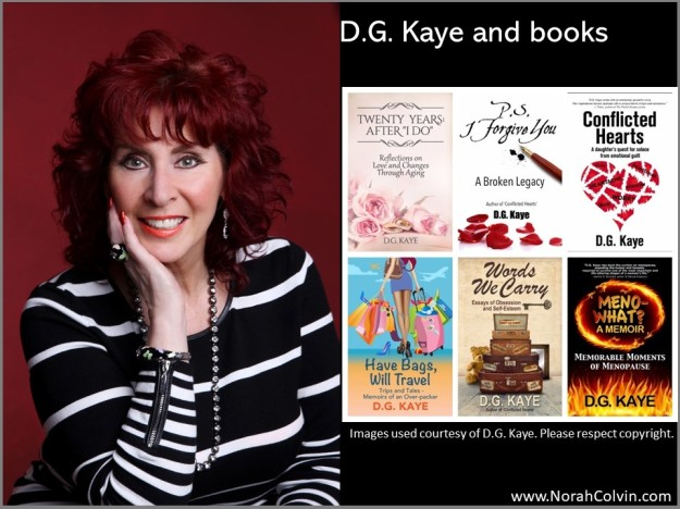D.G. Kaye and books