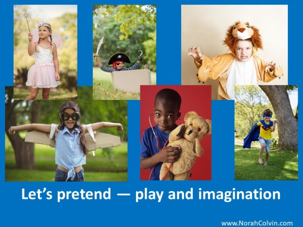 the benefits of play and using imagination