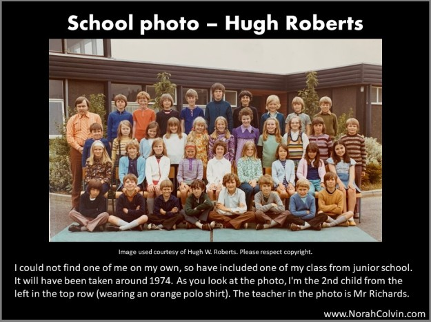 School Photo - Hugh Roberts