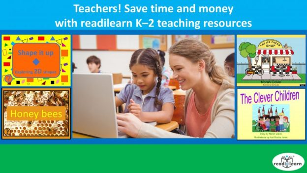 readilearn K-2 teaching resources now available individually