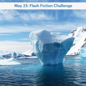 Charli Mills' flash fiction challenge Ice
