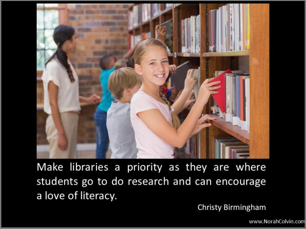 Christy Birmingham on the importance of libraries