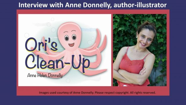 Interview with Anne Donnelly author illustrator of Ori's Clean-Up