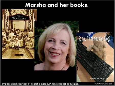 Marsha Ingrao and her books