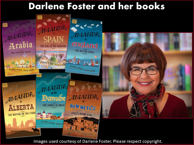 Darlene Foster and her books