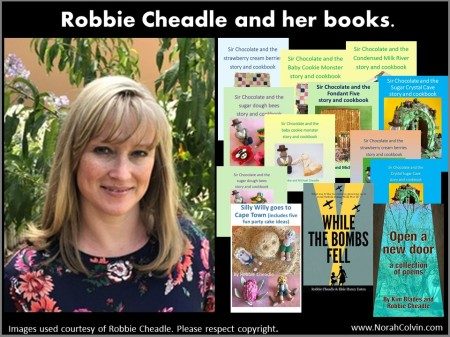 Robbie Cheadle and her books