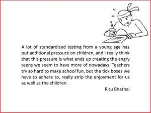 Ritu Bhathal discusses schooling