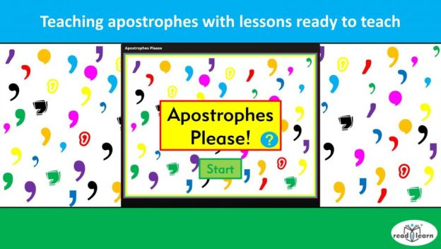 teaching apostrophes