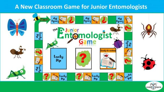 A new classroom game for junior entomologists