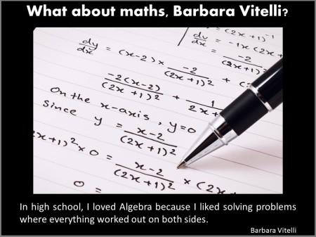 School Days Reminiscences of Barbara Vitelli