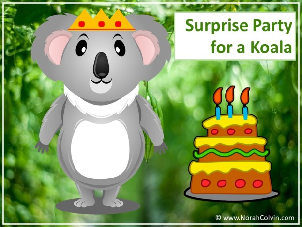 Surprise party for a koala flash fiction