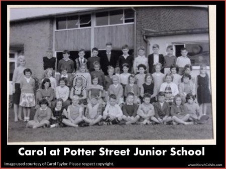 Carol Taylor in class photo