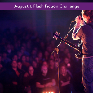 Charli Mill's flash fiction challenge - rock star